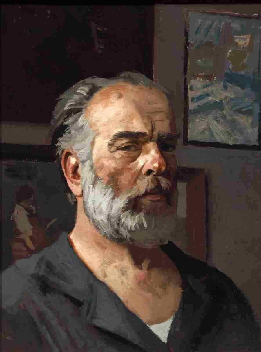 Gely Korzhev Self portrait