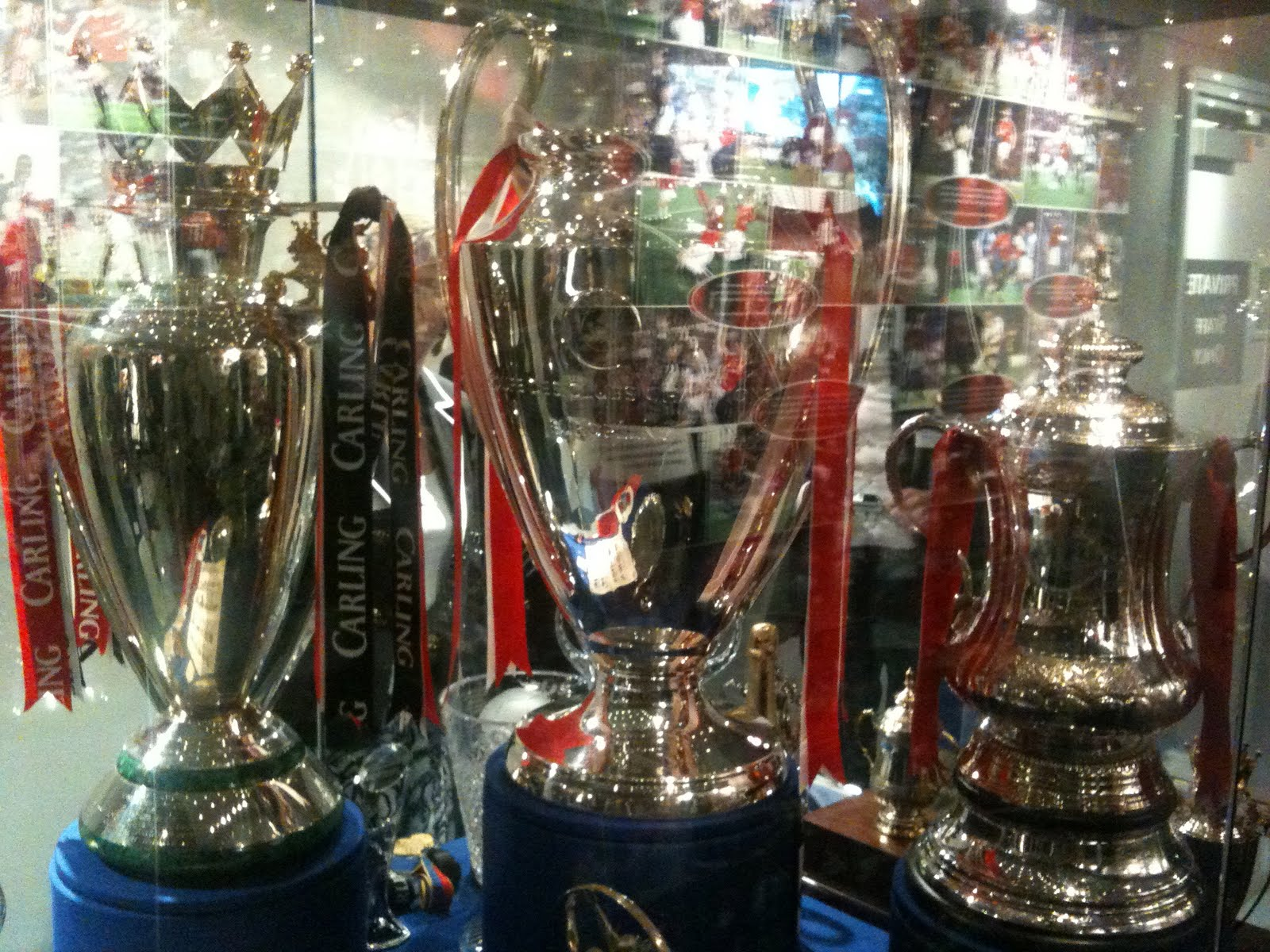 manchester united tour and museum Photo