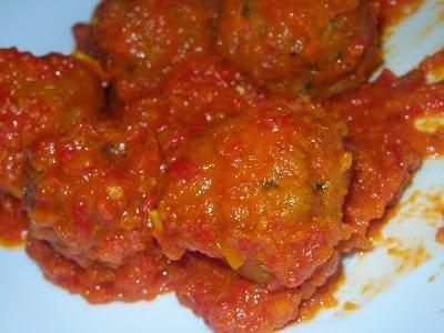 albondigas con tomate en thermomix