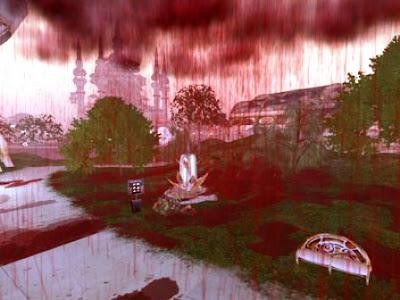 Lluvia de sangre blood rain