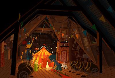 Living Lines Library Coraline 2009 Visual Development