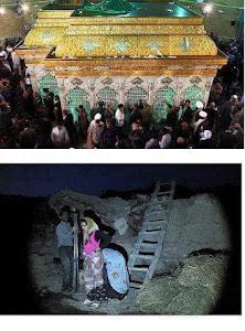 ضریح 14 میلیاردی حسین عرب زاده در قم رونمایی شد زلزله زدگان آذری هم به امان خدا .