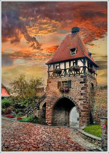 Châtenois-Alsace-France