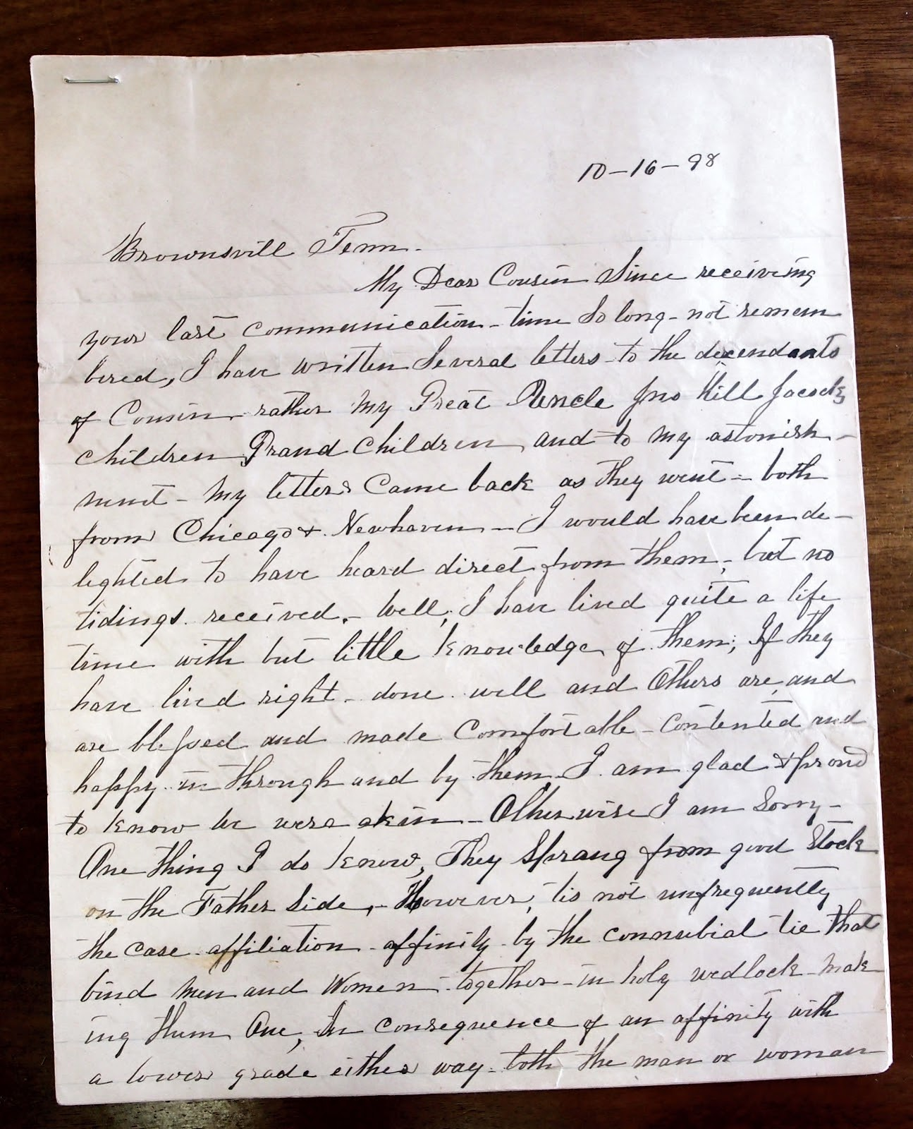 Haywood County Line Jacocks Letter Reveals Details About