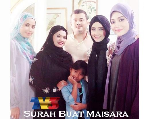 Sinopsis drama Surah Buat Maisara TV3, pelakon dan gambar drama Samarinda Surah Buat Maisara TV3, Surah Buat Maisara episod akhir – episod 15, biodata pelakon drama Surah Buat Maisara TV3