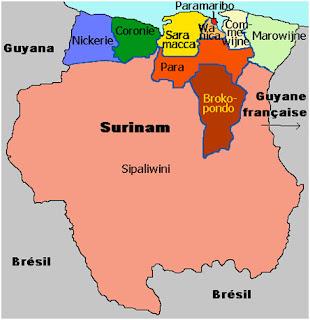 Geopolítica de Surinam