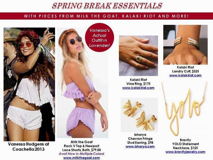 Spring Break Fashion Essentials
