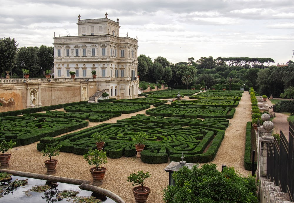 Rome Villa Pamphili