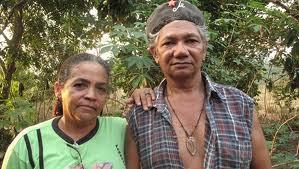 Zé Clauido Ribeiro da Silva y su esposa Maria do Espíritu Santo