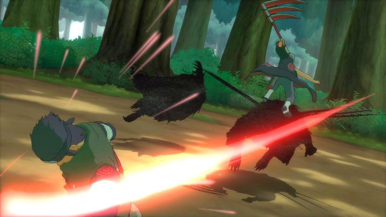 Hidan vs Asuma Storm Revoltion