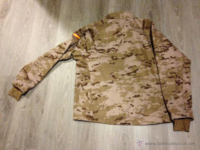 Spanish Army Desert Digital Camo Softshell Jacket c