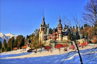 Castelul Peles, iarna si zapada