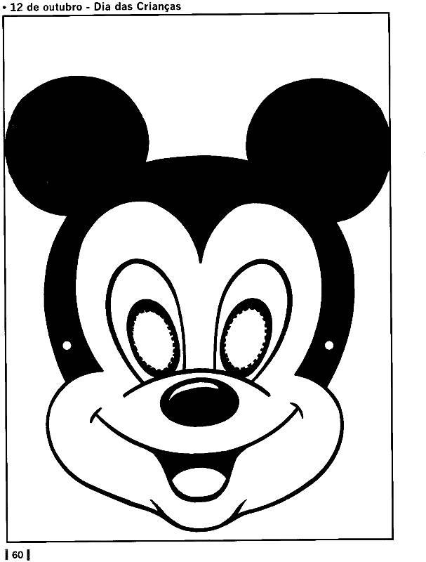 M  Scara Do Mickey E Minnie Para O Dia Da Crian  A