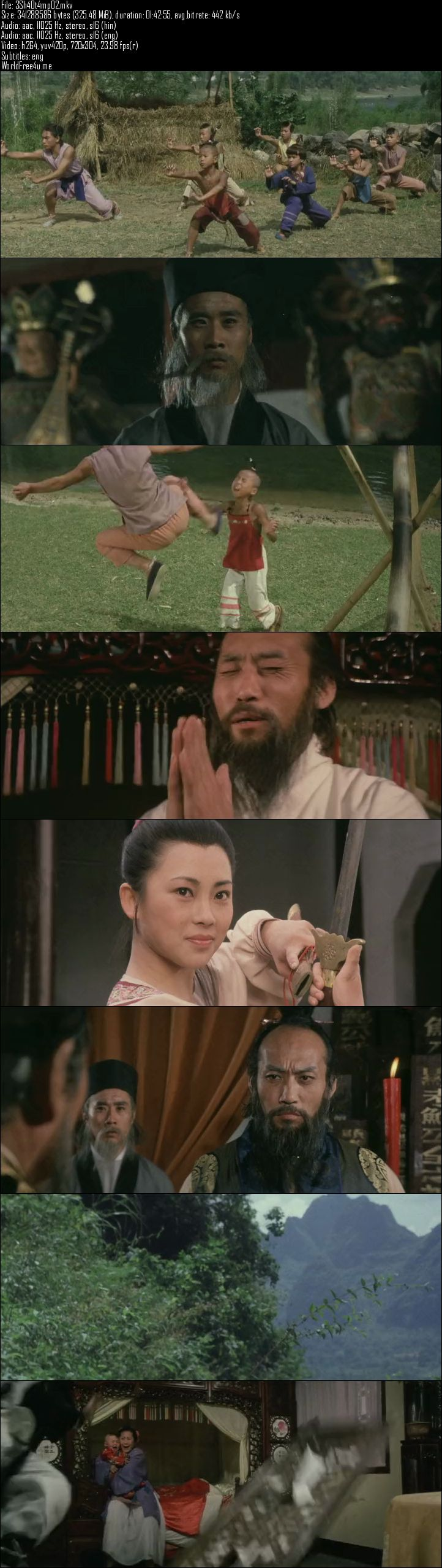 Screen Shot Of Shaolin Temple 2 1984 Full Movie Download 300MB In Hindi 480P ESubs Full small Size PC Movie