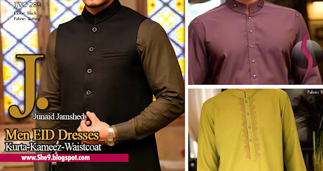 Junaid Jamshed Men Collection for Eid 2015