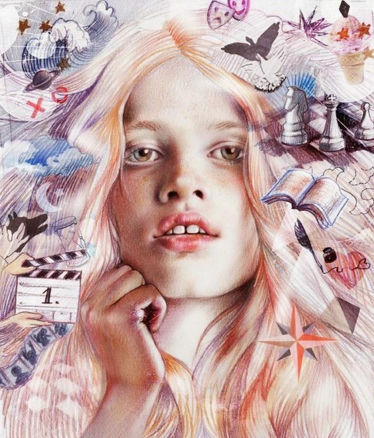 rostros-femeninos-dibujados-con-tintas-de-color