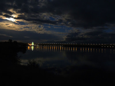 Fort Peck Dam in the Moonlight