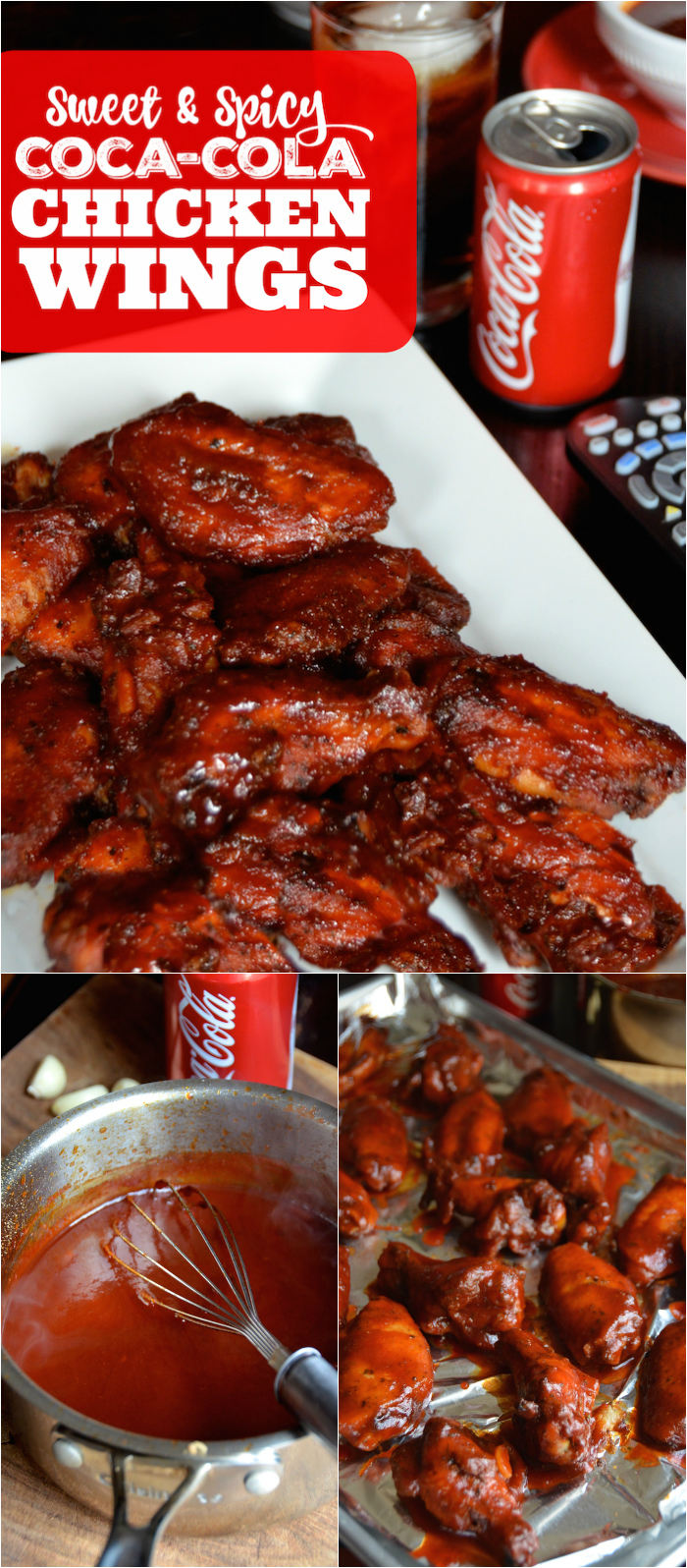 Sweet & Spicy Coca-Cola Chicken Wings - Always Order Dessert
