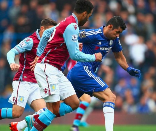 Chelsea 2 x 0 Aston Villa - Premier League 2015/16