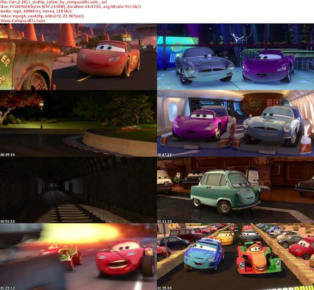 Cars 2 [2011] DVDRip [Español Latino] Descargar 1 Link Ver Online