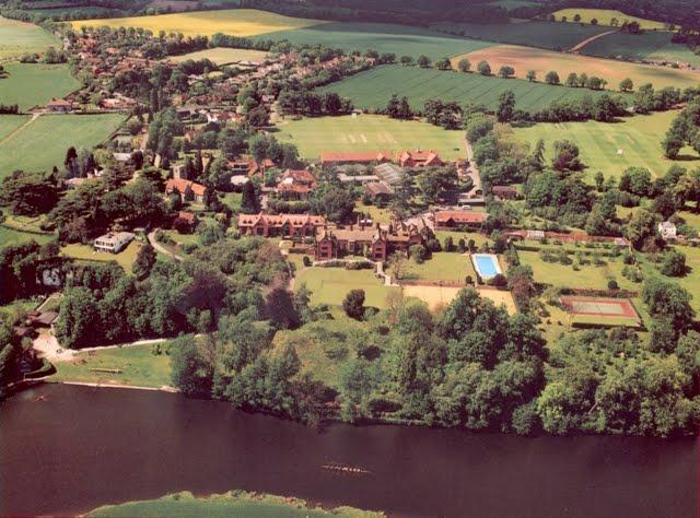 Shiplake Reach ~ Aerial View