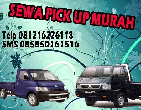 sewa mobil pick up murah