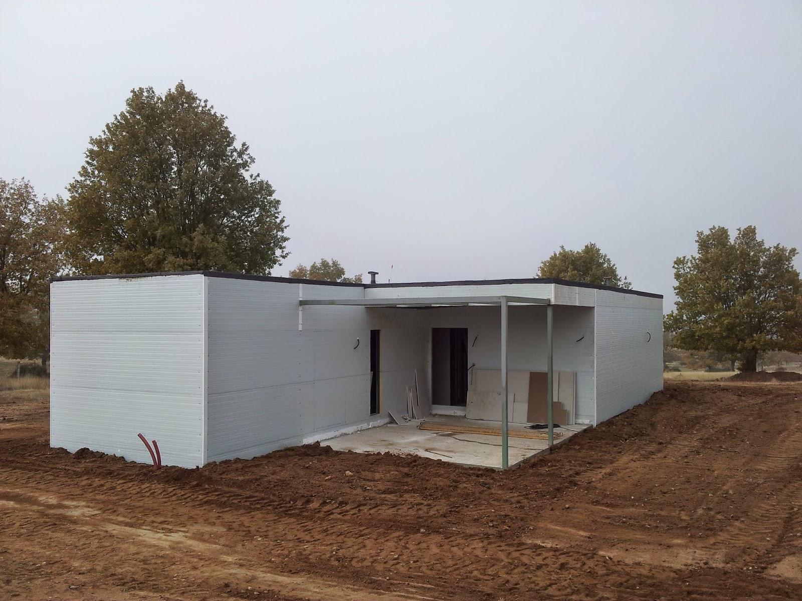 Panel s ndwich seguridad y aislamiento para viviendas - Casas de panel sandwich ...