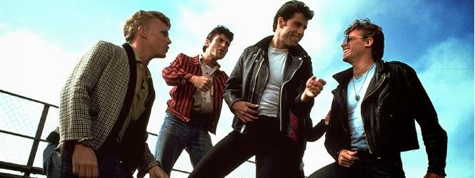 Foto de elenco do filme Grease - John Travolta