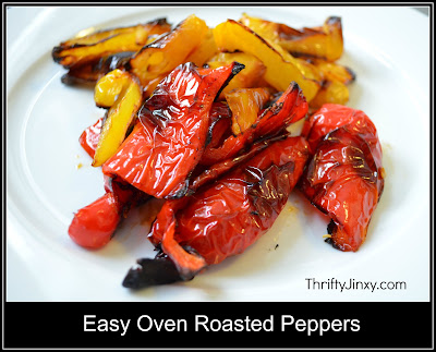 Easy Oven Roasted Pepper Recipe