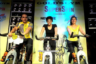 Mandira Bedi hot GYM stills