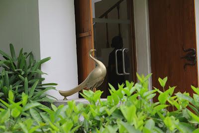 Sarangi entrance bird www.thekeybunch.com