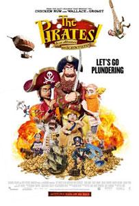 Poster original de ¡Piratas!