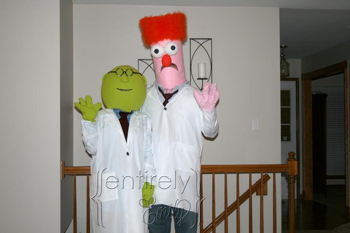 Bunsen Muppet Costume