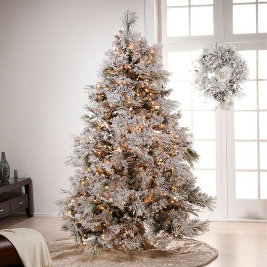 Home Christmas Decoration: Christmas Decoration: Ideas for White ...