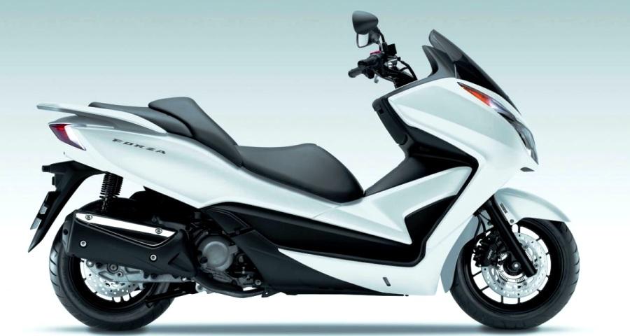 CEOSUPER Honda Forza Skuter Berbodi Besar Yang Sporty Dan Anggun