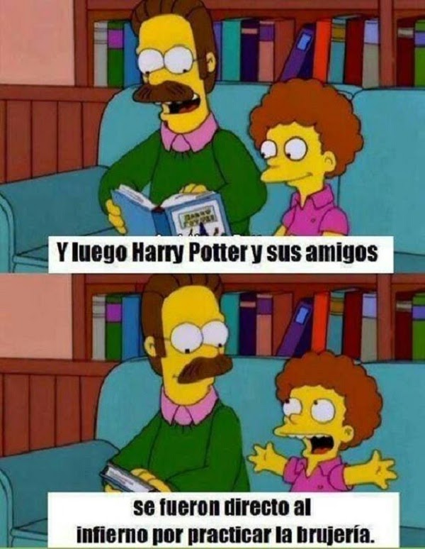 Leyendo Harry Potter
