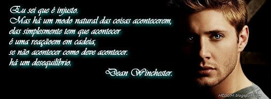 Capa para Facebook com Frases Sobrenatural Dean