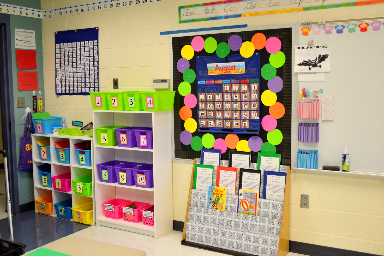 Classroom Decoration Ideas For Grade 1 ~ Our forever my  classroom