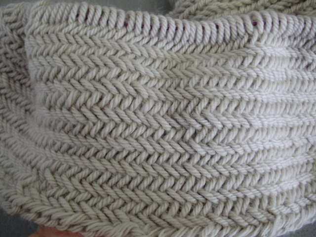 Stitchy n Crafty is ME: Progress update - Big Herringbone cowl