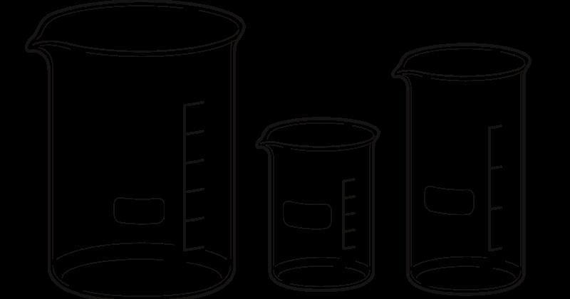 Dibujos De Vasos. Excellent Vasos De Precipitado De Diferentes ...