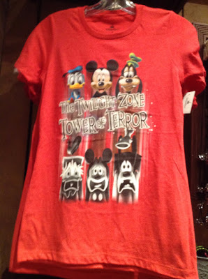 Hollywood Studios Tower of Terror t-shirt