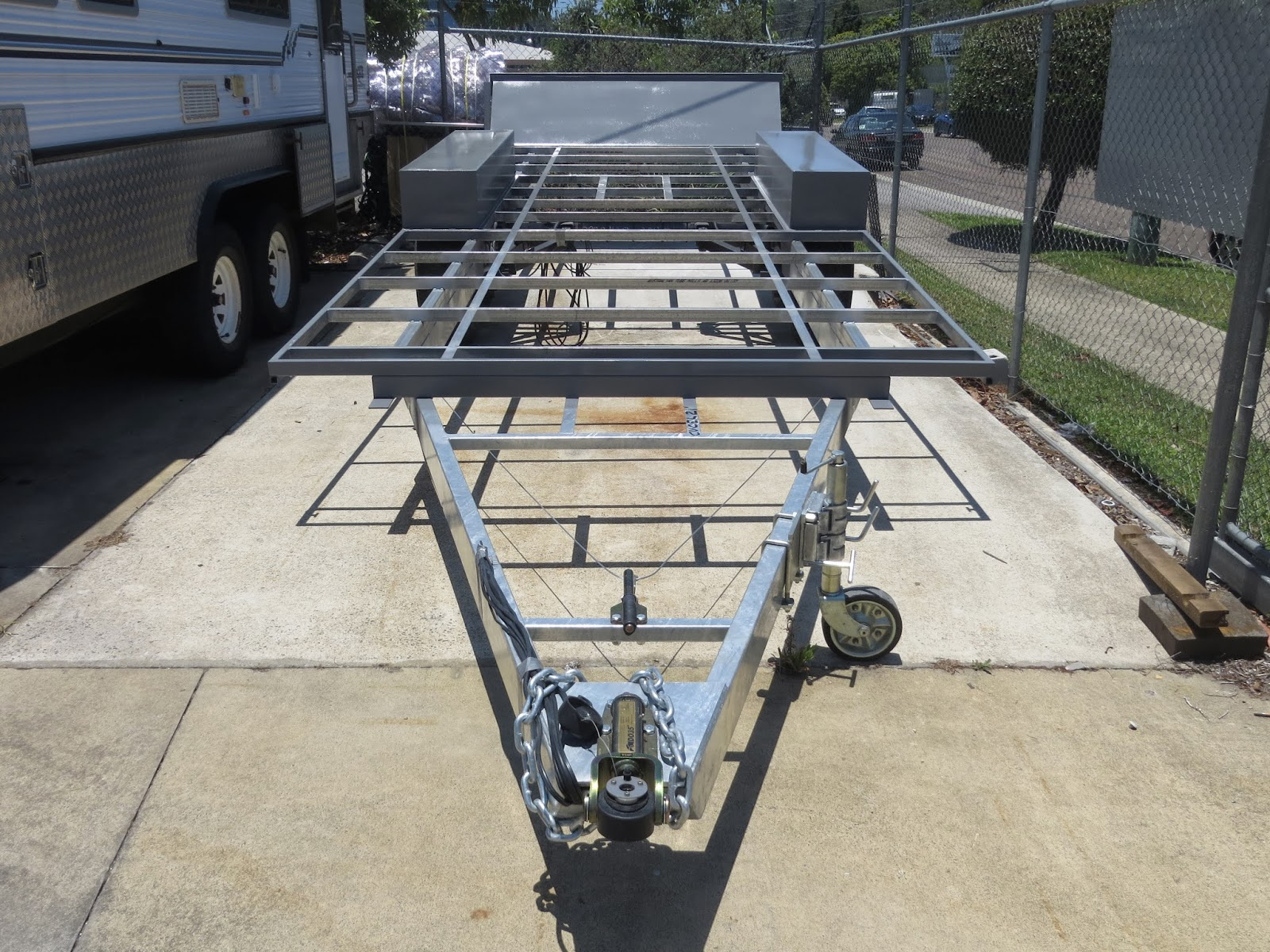 Elegant Caravan Frames  Which Type Is Best  Without A Hitch  Without A