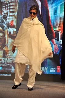 Amitabh at 'Department' movie press meet