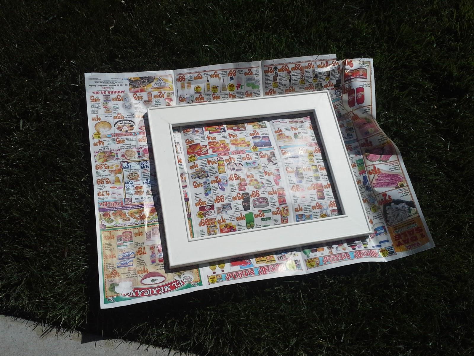 Girls of God\'s Heart: DIY Easy Chalkboard Frame