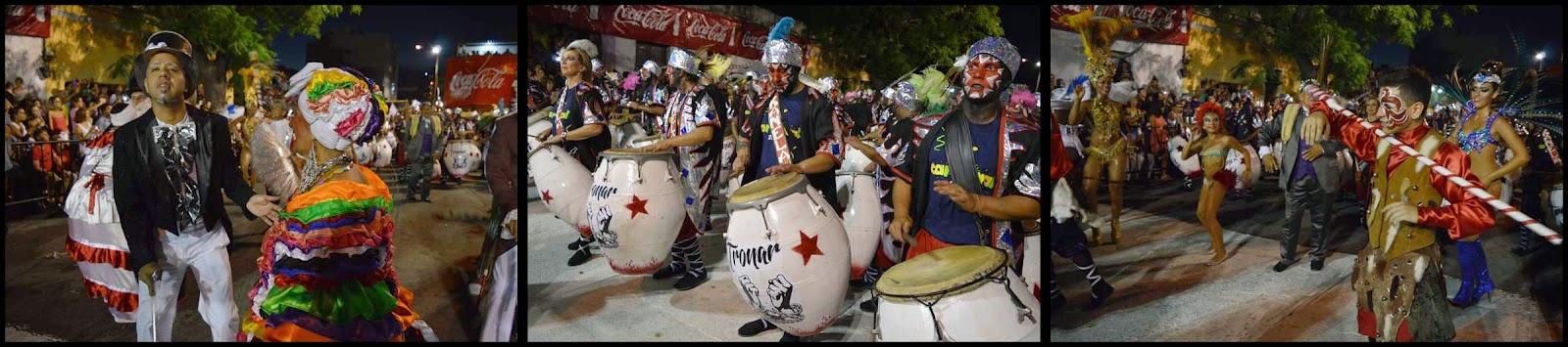 Carnaval. Desfile de Llamadas. Tronar de Tambores.
