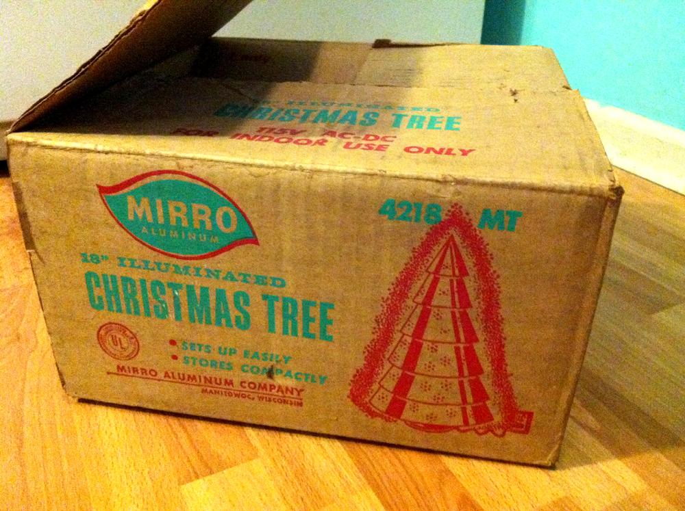 mirro aluminum tree box - Aluminum Christmas Tree Ebay