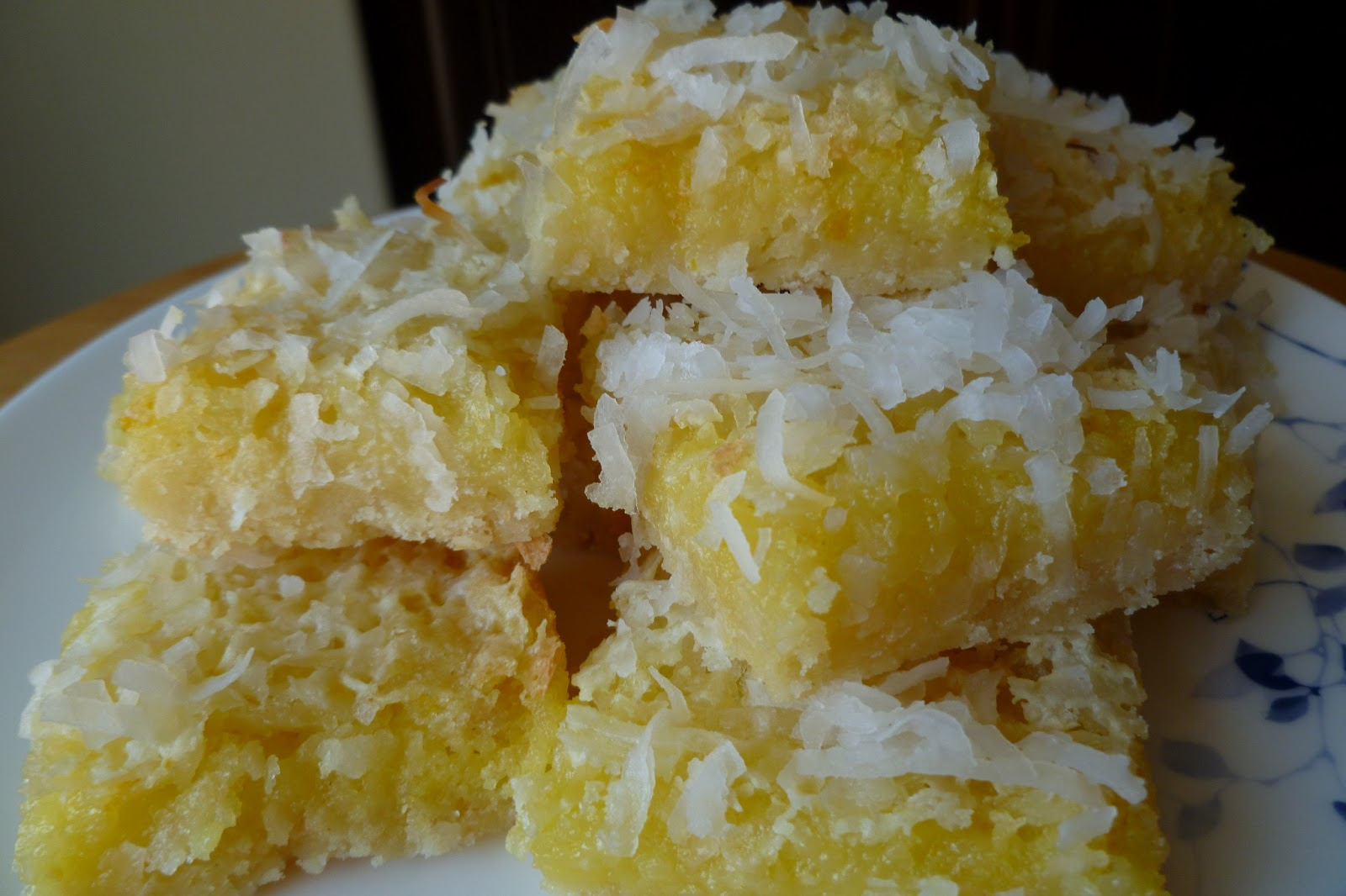 Lemon Coconut Bars - made April 20,2013 from My Baking Addiction
