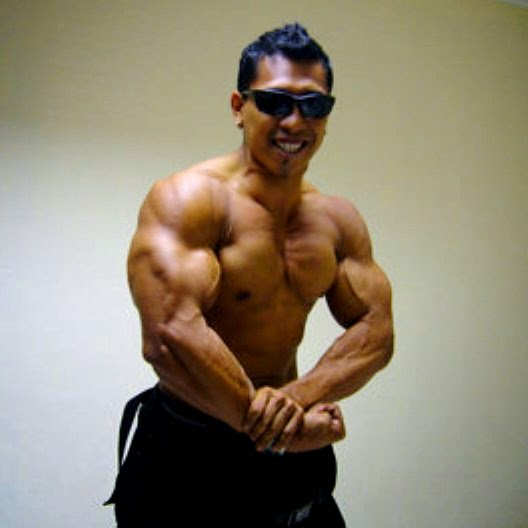 irfan biceps maulana bodybuilder bodyguard dahsyat