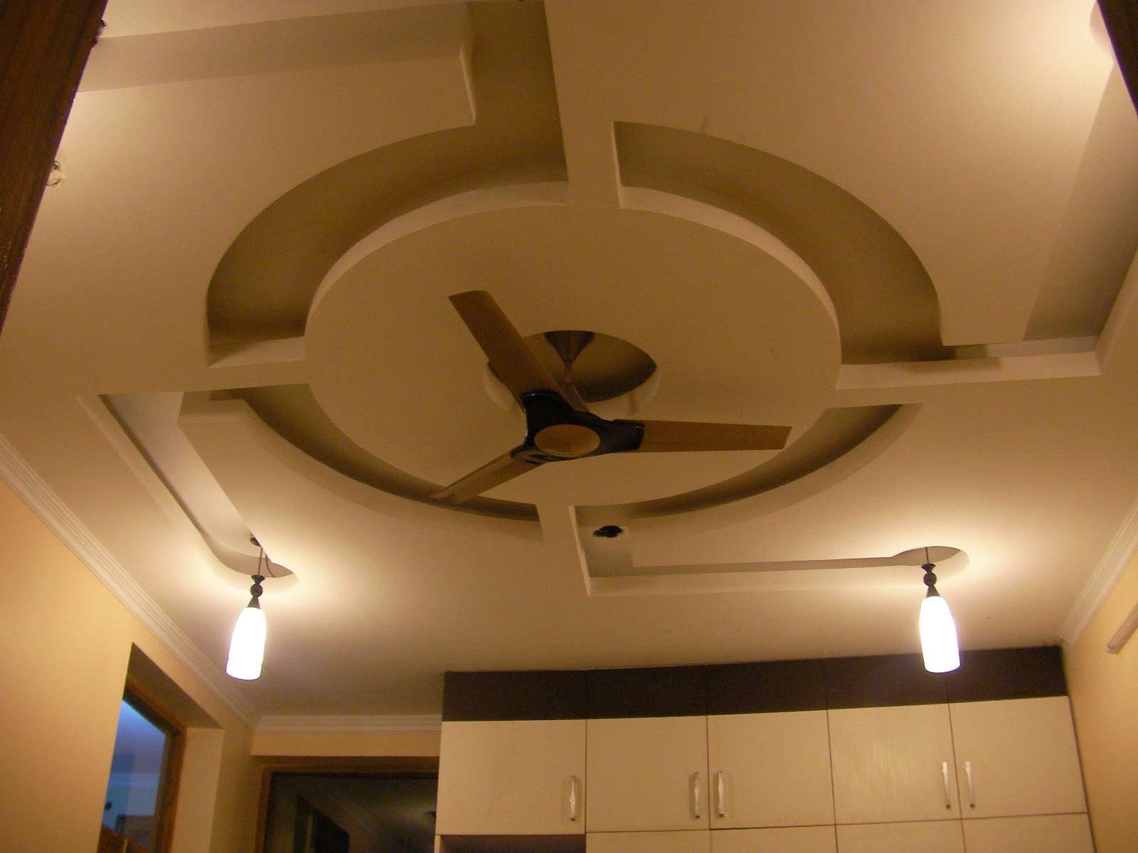 Genesis of art interiors project 1 false ceiling for P o p bedroom designs