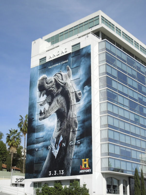 Giant Vikings billboard
